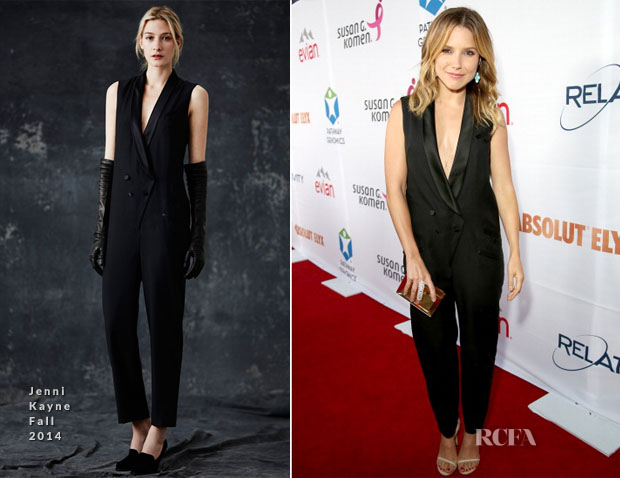 Sophia Bush In Jenni Kayne - Pathway To The Cures For Breast Cancer Fundraiser