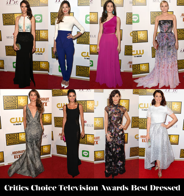 Who Was Your Best Dressed At The Critics' Choice Television Awards