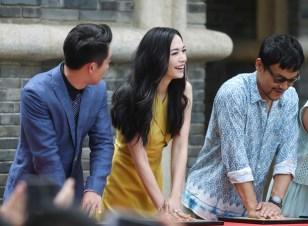 Yao Chen in Gucci