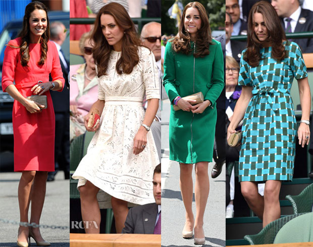 A Week In Catherine, Duchess of Cambridge's Closet