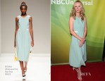 Anne Heche In Bibhu Mohapatra - NBCUniversal 2014 Summer TCA Tour