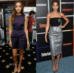 Ashley Madekwe In McQ by Alexander McQueen & Christian Dior - Comic-Con 2014 & Entertainment Weekly's Annual Comic-Con Celebration