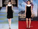 Aubrey Plaza In Emporio Armani - 'Guardians Of The Galaxy' LA Premiere