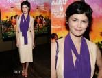 Audrey Tautou In Prada - 'Mood Indigo' New York Premiere