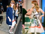Emma Stone In Christian Dior - Good Morning America
