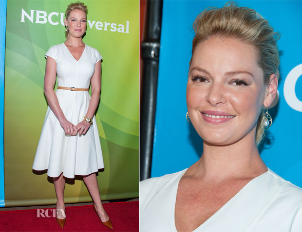 Katherine Heigl In Michael Kors - NBCUniversal 2014 Summer TCA Tour