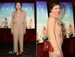 Maggie Gyllenhaal In Maison Martin Margiela - 'Very Good Girls' New York Premiere