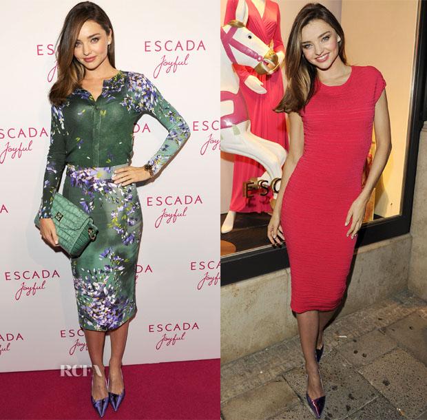 Miranda Kerr In Escada - Escada Joyful Event