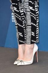Emma Stone's Christian Louboutin 'Door Knock' pumps