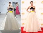 Allison Williams In Giambattista Valli Couture - 2014 Emmy Awards