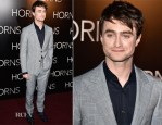 Daniel Radcliffe In Dunhill - 'Horns' Paris Premiere