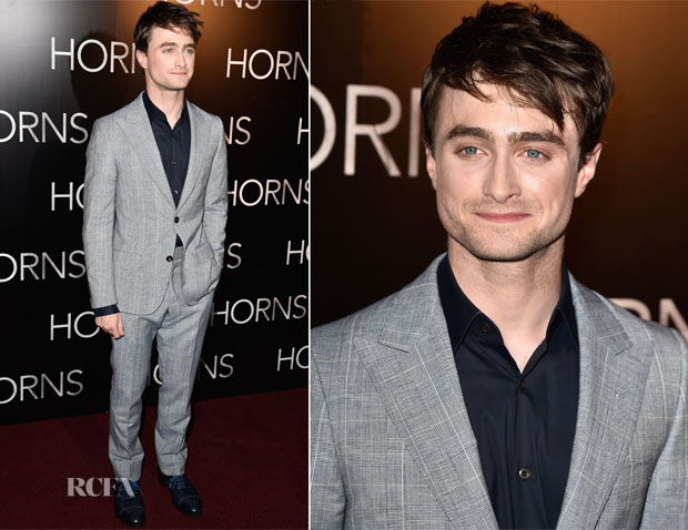 Daniel Radcliffe In Dunhill - 'Horns' Paris Premiere