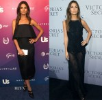 Lily Aldridge In Sally LaPointe & Donna Karan -  US Weekly's Most Stylish New Yorkers of 2014 Party &  Victoria's Secret Hosts Russell James' 'Angel' Book Launch