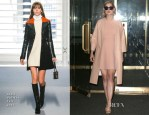 Rosamund Pike In Louis Vuitton & Marni - The Today Show