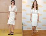 Hilary Swank In Altuzarra -  2014 Hamptons International Film Festival