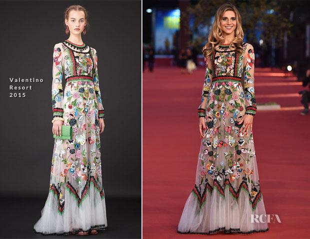 Nicoletta Romanoff In Valentino - Rome Film Festival People's Choice Awards Ceremony