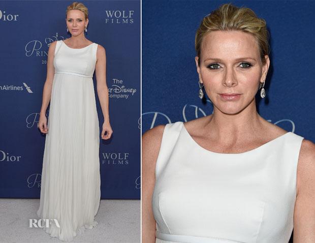 Princess Charlene of Monaco In Christian Dior Couture - 2014 Princess Grace Awards Gala