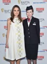 Keira Knightley in Holly Fulton