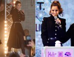 Cheryl Fernandez Versini In Alexander McQueen - Oxford Street Christmas Lights Switch On Event