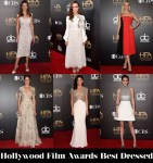 Who Was Your Best Dressed At The Hollywood Film Awards?