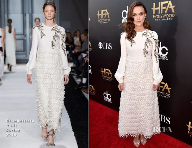 Keira Knightley In Giambattista Valli - 2014 Hollywood Film Awards