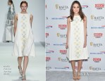Keira Knightley In Holly Fulton - BAFTA New York Presents: In Conversation With Keira Knightley