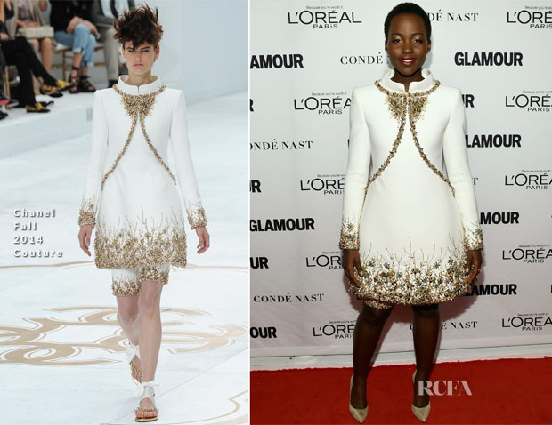 Lupita Nyong'o In Chanel Couture - Glamour Women Of The Year Awards