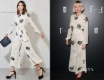 Sienna Miller In Reformation - 'Inside Rolls-Royce' Exhibition