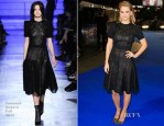 Alice Eve In Emanuel Ungaro - 'Night At The Museum: Secret Of The Tomb' London Premiere