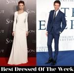 Best Dressed Of The Week - Olga Kurylenko In Ralph Lauren Collection & Eddie Redmayne In Hardy Amies