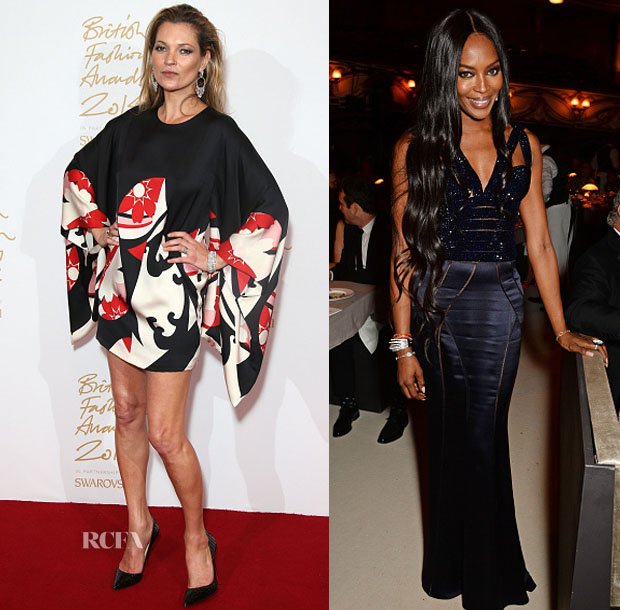 Models 4@ The 2014 2014 British Fashion Awards