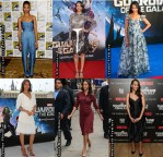 Which Your Favourite Zoe Saldana 'Guardians Of The Galaxy' Promo Tour Look?