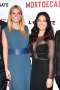 Gwyneth Paltrow in Lanvin and Olivia Munn in Ralph Rucci
