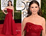 Catherine Zeta Jones In Angel Sanchez - 2015 Golden Globe Awards