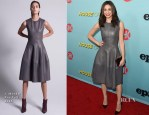 Emmy Rossum In J. Mendel - Showtime Celebrates The New Season Of 'Shameless'