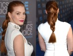Get The Look: Jessica Chastain's Critics' Choice Awards Loose Braid
