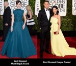 Fashion Critics' Golden Globe Awards Roundup