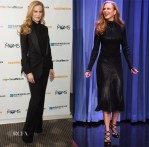 Nicole Kidman In Elie Saab & Salvatore Ferragamo - 'Paddington' New York Screening & The Tonight Show Starring Jimmy Fallon