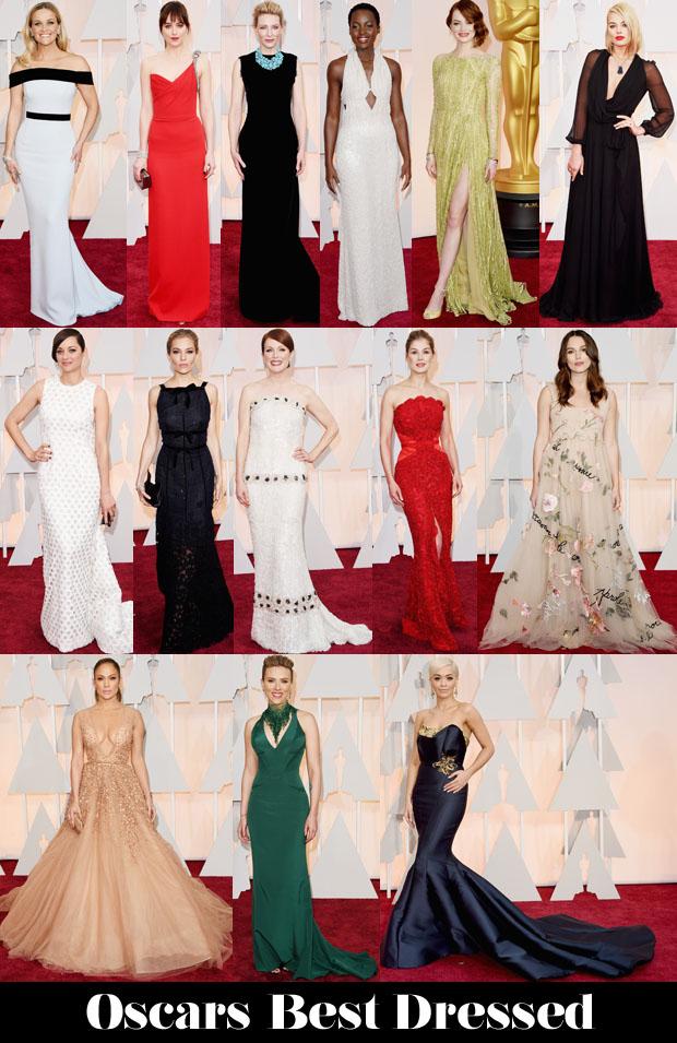 2015 Oscars Best Dressed