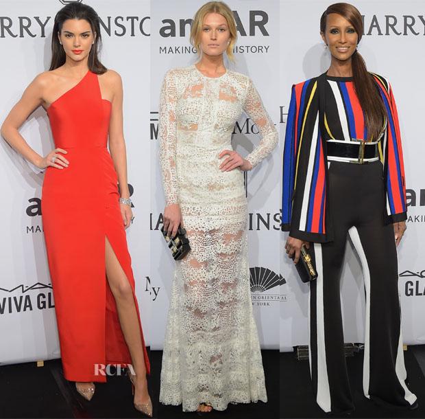 2015 amfAR New York Gala Red Carpet Roundup