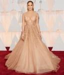 Jennifer Lopez In Elie Saab Couture - 2015 Oscars