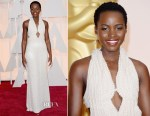 Lupita Nyong'o In Calvin Klein Collection - 2015 Oscars