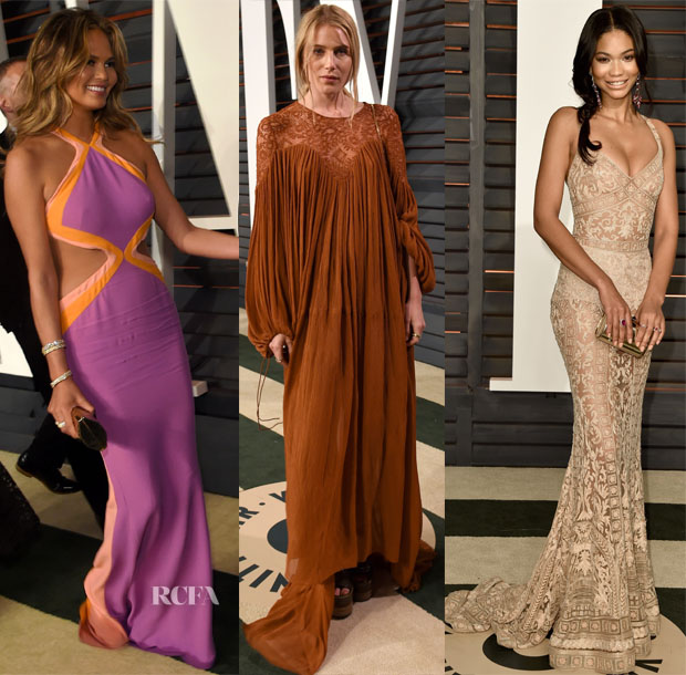 Models @ The 2015 Oscars Parties 4