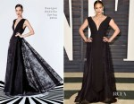 Paula Patton In Georges Hobeika - 2015 Vanity Fair Oscar Party
