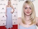 Dakota Fanning In Wes Gordon - 'Effie Gray' New York Premiere