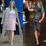 Hilary Duff In Stella & Jamie, Public School & Christian Siriano - Good Morning America & The Ellen DeGenres Show