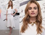 Lily James In Camilla and Marc - AOL BUILD Speaker Series