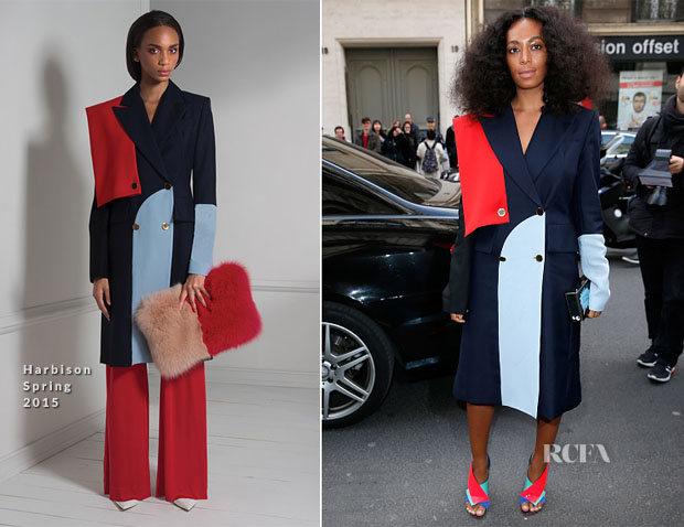 Solange Knowles In Harbison - Vivienne Westwood Fall 2015 Show