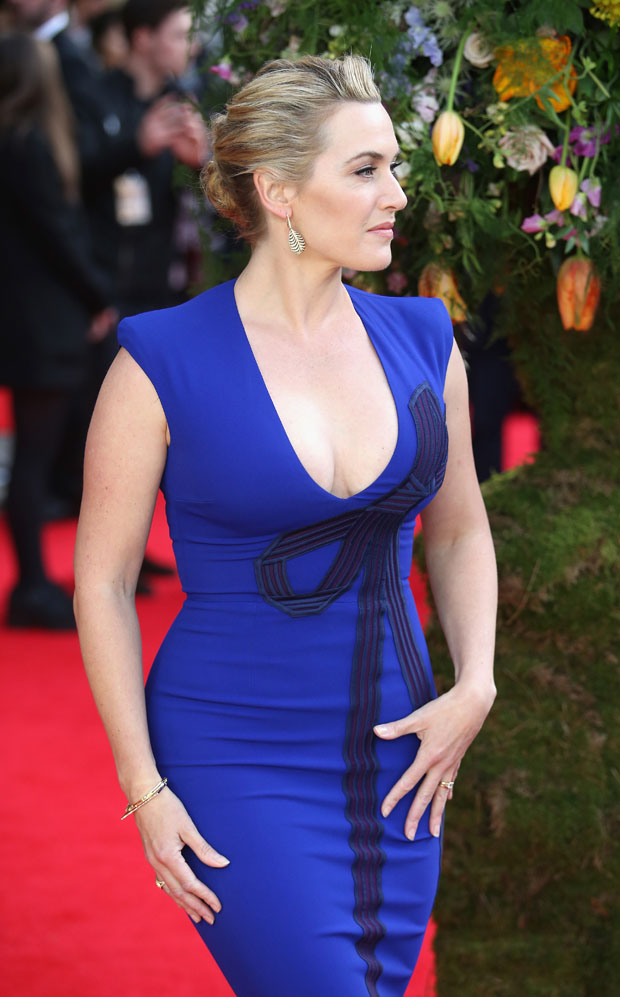Kate Winslet A Little Chaos London Premiere Red