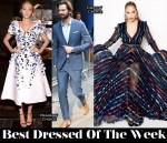 Best Dressed Of The Week - Blake Lively In Ralph & Russo Couture, Jennifer Lopez In Blumarine & Michiel Huisman In Salvatore Ferragamo